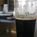 The Black IPA at Green Bench Brewing in St. Petersburg, Florida.