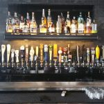 The draft handles at Taps Bar and Lounge in downtown Tampa