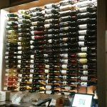 Wine rack at Annata Wine Bar in St. Petersburg, Florida